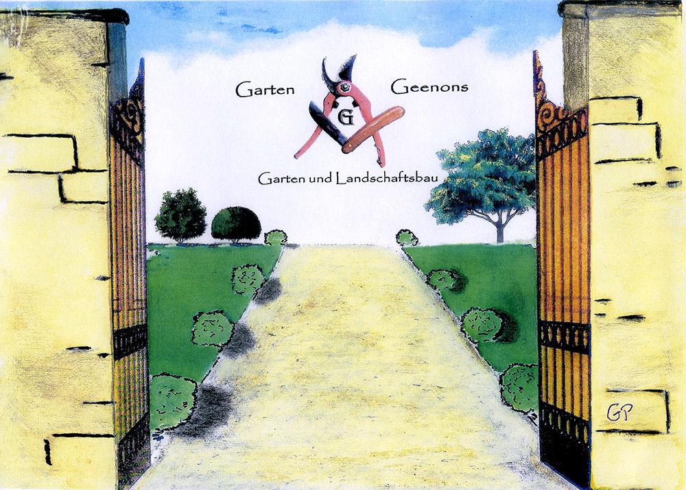 Garten und landschaftsbau geenons vom gedanken bis zur realit t garten und landschaftsbau - Garten zeichnung ...